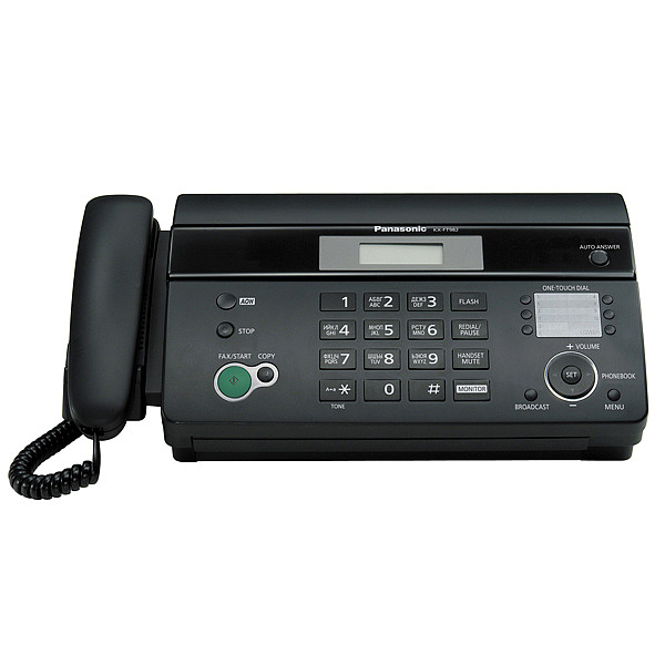 Факс PANASONIC KX-FT 982 RUB чёрный