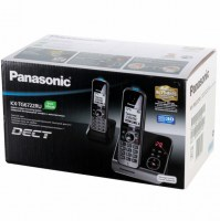 Радиотелефон PANASONIC KX-TG 6722 RUB чёрный