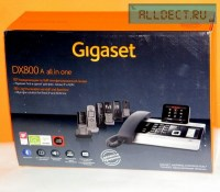IP-телефон GIGASET DX800A (all in one) чёрный