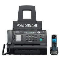 Факс PANASONIC KX-FLС 418 RUB чёрный
