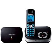 Радиотелефон PANASONIC KX-TG 6541 RUB чёрный