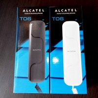 Alcatel T06 White: