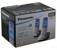Радиотелефон PANASONIC KX-TG 2512 RUN платина