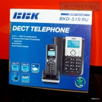 Радиотелефон BBK BKD 519 RU box