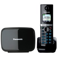 Радиотелефон PANASONIC KX-TG 8081 RUB чёрный