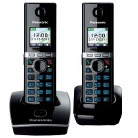 Радиотелефон PANASONIC KX-TG 8052 RUB чёрный
