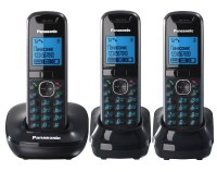 Радиотелефон PANASONIC KX-TG 5513 RUB чёрный